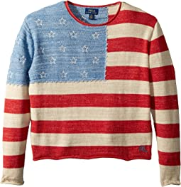 Cotton Flag Sweater (Little Kids/Big Kids)