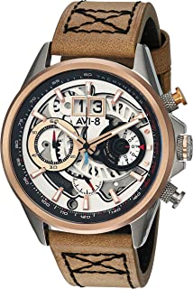 Hawker Harrier II Matador Edition Watch - Silver White/Brown