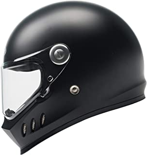 casco integral negro YEMA