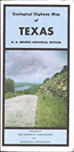 Geological Highway Map of Texas H.B.. Renfro Memorial Edition