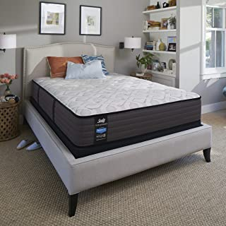 Sealy 12.5-Inch Cushion Firm Tight Top Mattress, California King, Made in USA, 10 Year Warranty