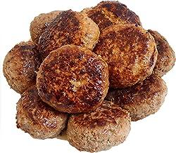 bonbori (ぼんぼり) 究極のひき肉で作る 牛100% ハンバーグステーキ (プレーン) 120g × 12個入り 付属ソース無し[無添加 冷凍 レトルト]