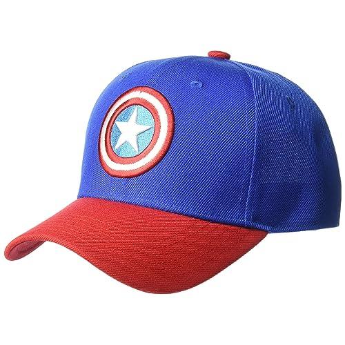 6351bc66823 Marvel Men s Captain America Baseball Cap
