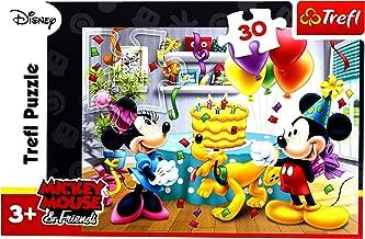 Disney, Mickey Mouse and Friends, Birthday Cake, 30pcs Jigsaw/Puzzles by Trefl