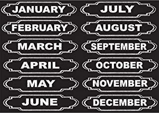 Ashley Productions Months of The Year Die-Cut Magnets