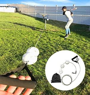 Swingers Ultimate Baseball Batting Trainer - Fast Setup and Easy to Use - Professional Baseball Tune-Up Kit - Improves Batting Skills for Boys & Girls Age 2-12 Yrs Old
