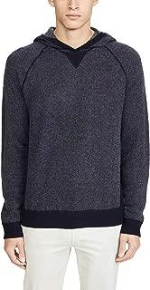 Men's Long Sleeve Birdseye Pullover Cashmere Hoodie