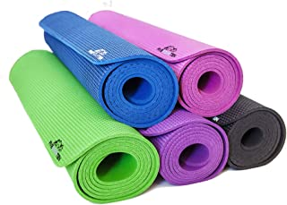 FiveFourTen Foldable Hot Yoga Mat | Non Slip Design for Extra Firm Grip | Absorbs Sweat & Prevents Smells | 100% Organic & Odorless Rubber | Enhanced Cushioning | Fitness- 72in x 24in