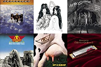Aerosmith: 6 Studio Albums CD Collection (Draw the Line / Night in the Ruts / Get a Grip and More)