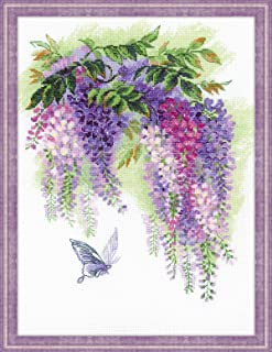 RIOLIS 1672 - Wisteria - Counted Cross Stitch Kit - 11¾