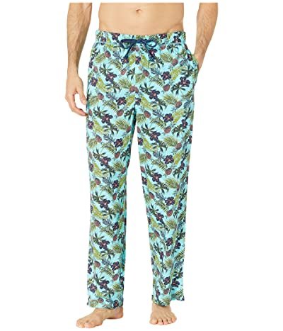 Tommy Bahama Cotton Modal Printed Knit Pants (Floral Pineapple) Men