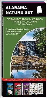 Alabama Nature Set: Field Guides to Wildlife, Birds, Trees & Wildflowers of Alabama