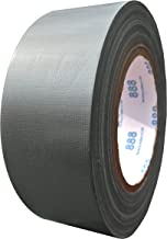 MG888 Silver Gray Colored Duct Tape Roll 1.88 Inches x 60 Yards for Repairs, Crafts, DIY, Multi Use