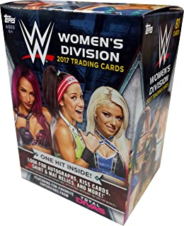2017 Topps Wrestling Cards WWE Womens Evolution Value Box - Includes 100 Cards +50 Current Roster Superstars