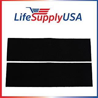 LifeSupplyUSA 2 Replacement Carbon Pre-Filters Compatible with Honeywell K Filter HRF-K2 fit HFD120 HFD140 HFD230 HFD280 HFD300 Series Air Purifiers