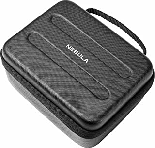 Nebula by Anker Capsule Travel Case (Customized for Nebula Capsule Pocket Projector, with PU Leather, Soft EVA Material, a...