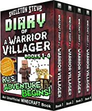 Diary of a Minecraft Warrior Villager - Box Set 1 - Ru's Adventure Begins (Books 1-4): Unofficial Minecraft Books for Kid...