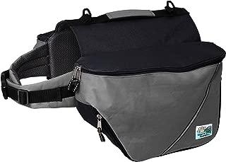 Doggles Dog Backpack, Extreme XXS, Gray/Black
