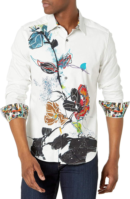 Robert Graham Men's Study of Florals L/S Woven Shirt