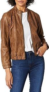 Lucky Brand womens ANA LEATHER JACKET Leather Jacket