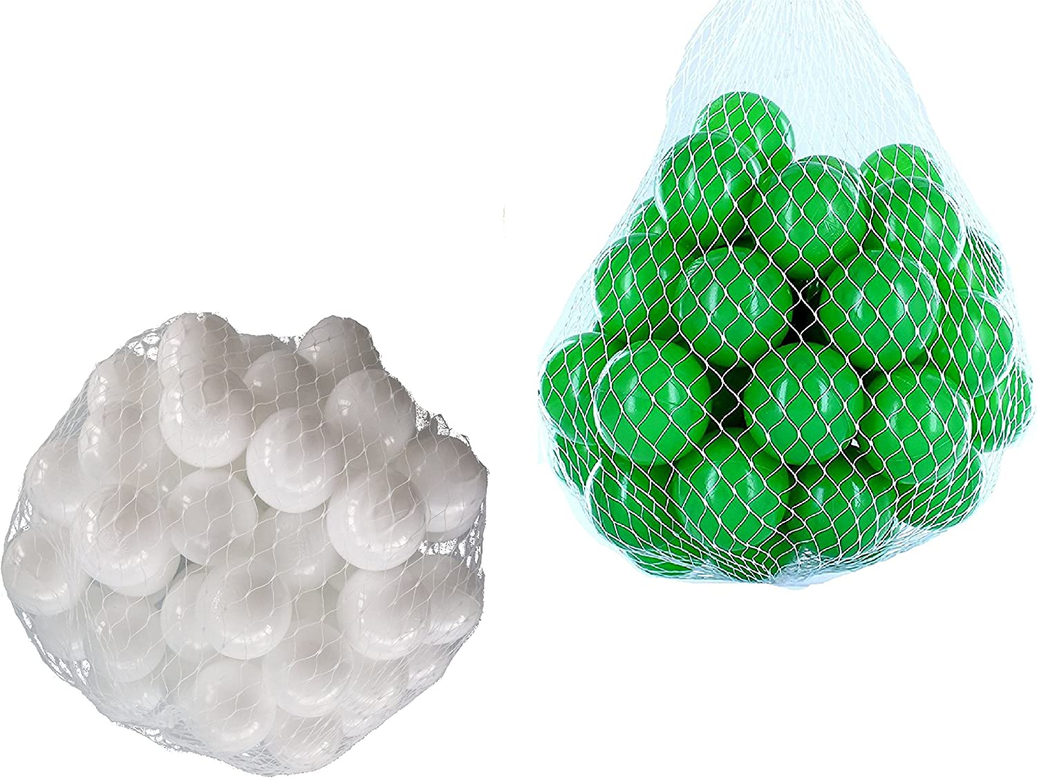 Balls For Ball Pool Mix Set with Green and White