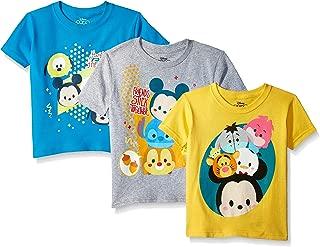 Boys' Toddler Tsum 3-Pack Short Sleeve T-Shirt