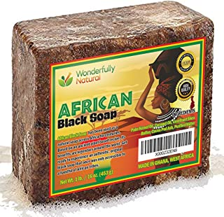 Best #1 Organic African Black Soap | Acne Treatment | 1lb bar | 60 day Satisfaction Guarantee Review