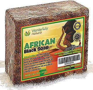 #1 Organic African Black Soap | Acne Treatment & Dark Spot Remover | 60 day..