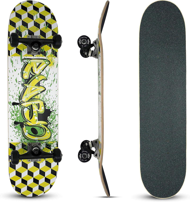 "rabd Blank Skateboard Deck Natural USA Maple Wood 32/"" x 8/"""