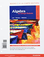 Algebra for College Students a la Carte -- Access Card Package (8th Edition)