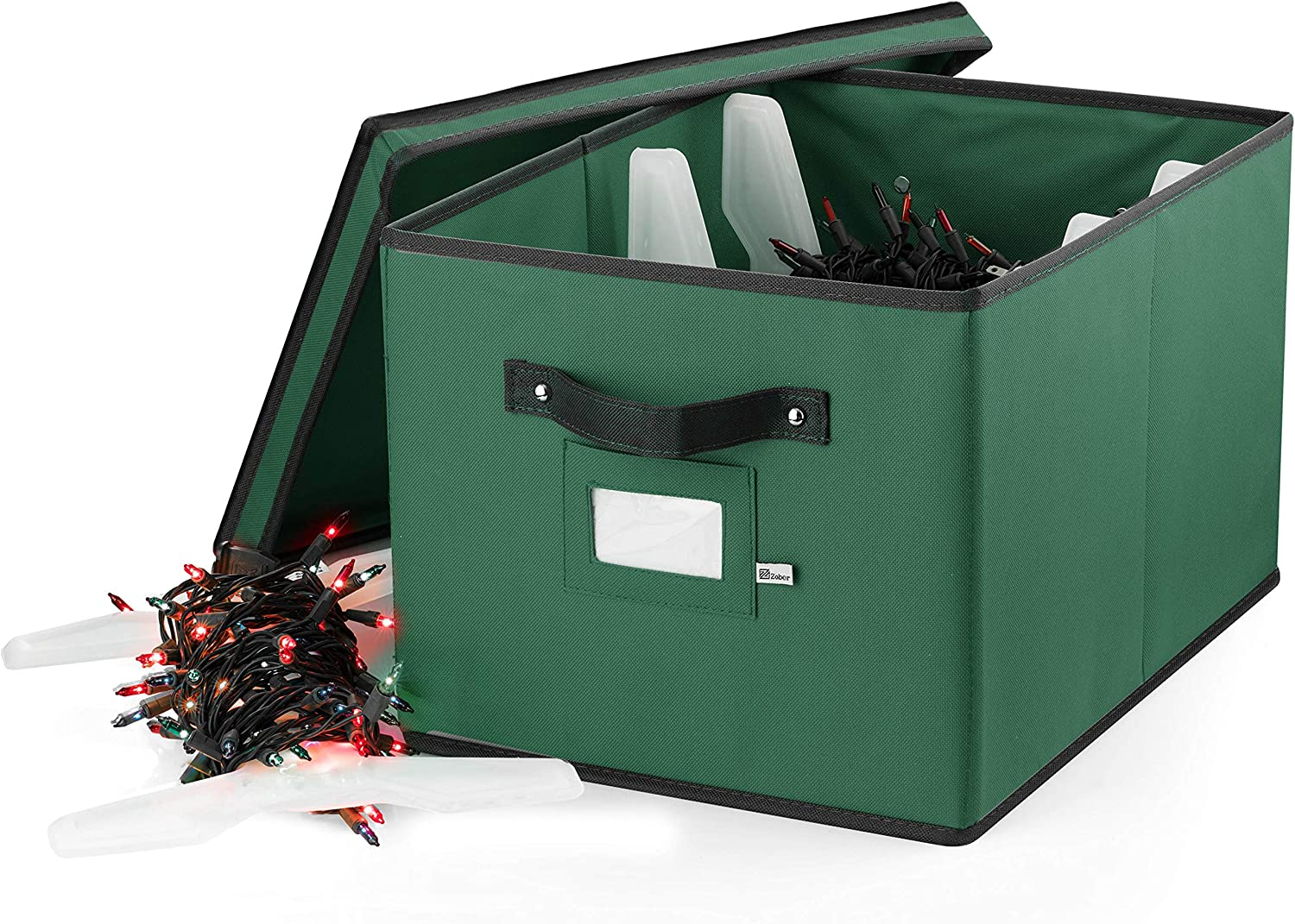 ZOBER Christmas Light Storage Box Max 51% OFF - High order 4 Premium with Oxford 600D