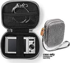 Gray Digital Camera Case for Sony W800/S, DSCW830; Canon PowerShot ELPH180, ELPH 190, ELPH 350 HS, ELPH 310 HS, ELPH 360; Kodak PIXPRO Friendly Zoom FZ43, FZ53-BL; Nikon COOLPIX L32