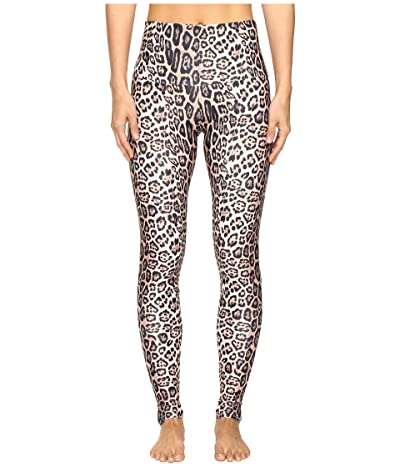 Onzie High Rise Leggings (Leopard) Women
