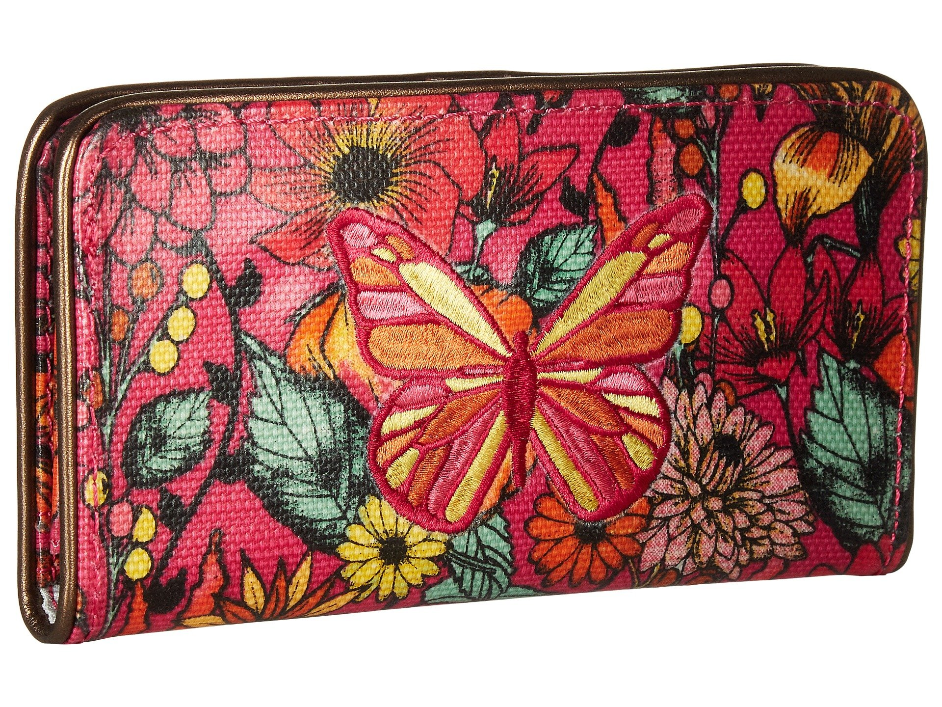 In Artist Raspberry Wallet Slim Sakroots Bloom Circle dvx8BXqX