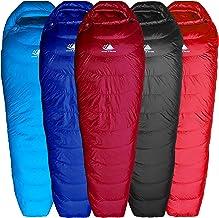 Best Hyke & Byke Shavano 32 Degree F 650 Fill Power Hydrophobic Down Sleeping Bag with ClusterLoft Base - Ultra Lightweight Men's and Women's Mummy Bag Designed for Summer Backpacking Review