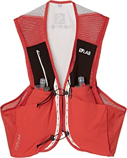Salomon Unisex S/Lab Sense 2 Set Hydration Vest, Racing Red, Medium