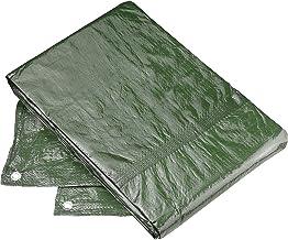 Connex FLOR80445 Beschermzeil, 3 x 4 m, 80 g/m2, aan beide zijden gecoat, waterafstotend en UV-gestabiliseerd, schimmelbes...