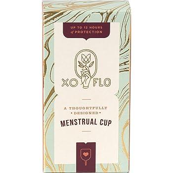Xo Flo Menstrual Cup, 0.8 Pound