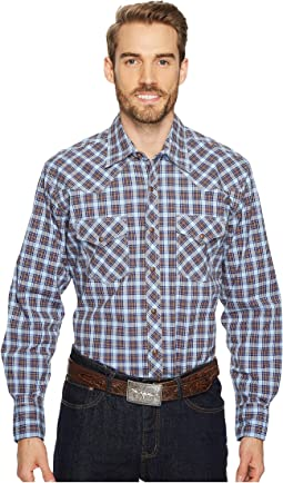 Wrangler - 20X Competition Two-Pocket Snap AC Shirt Plaid