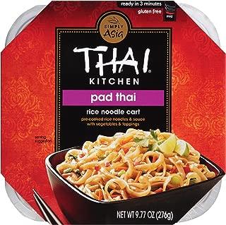 Thai Kitchen Gluten Free Pad Thai Rice Noodle Cart, 9.77 Oz, Pack of 6