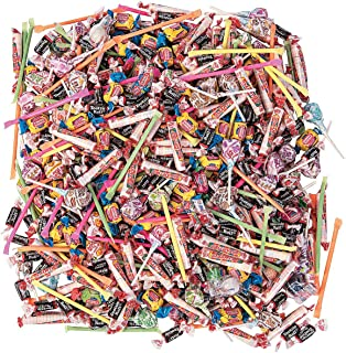 Bulk Candy Individually Wrapped 1000 Pieces (9 lbs) Perfect Parties, Halloween, Parades and Pinatas