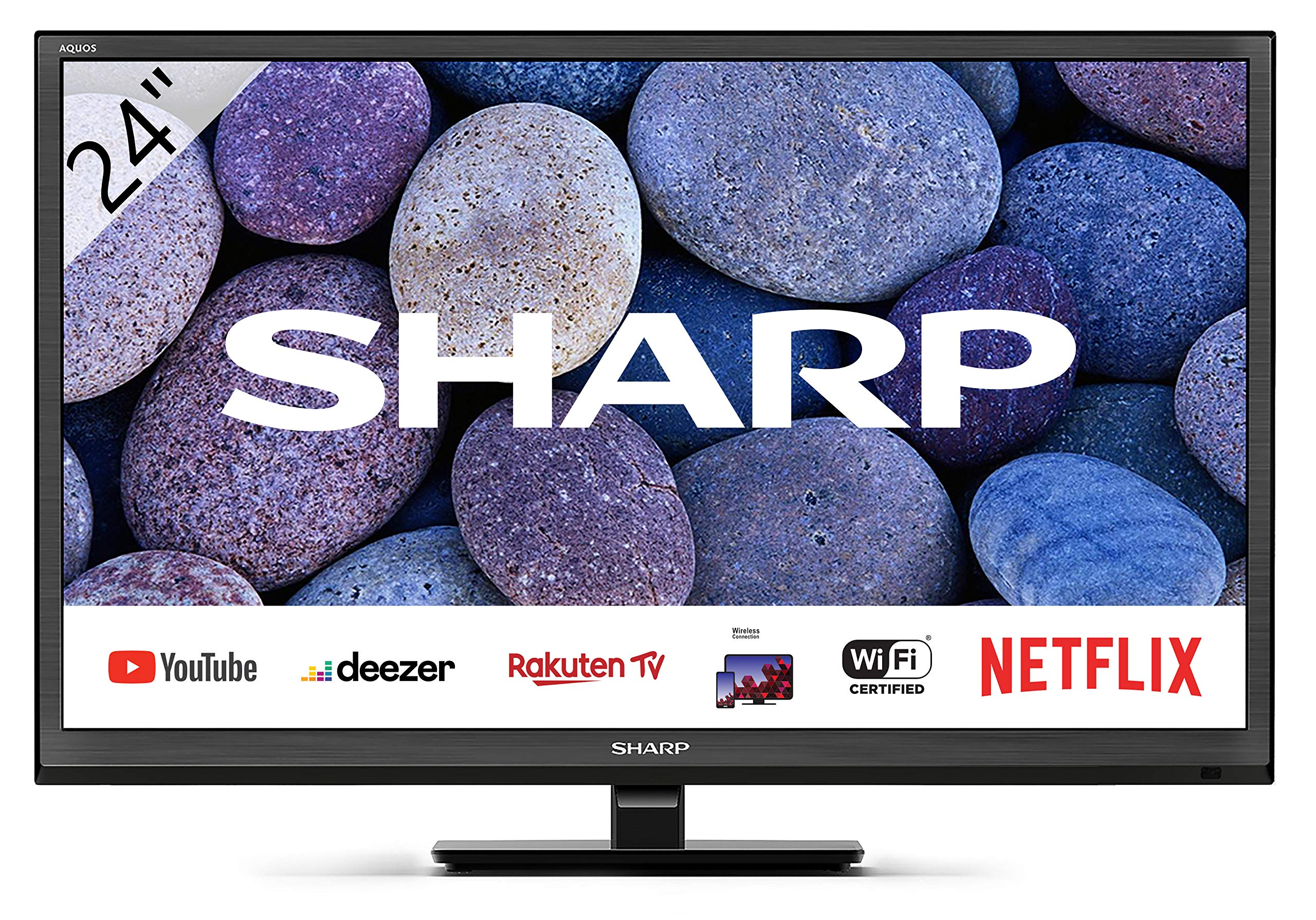 Sharp Aquos 24BC0E-Televisor Smart TV de 24
