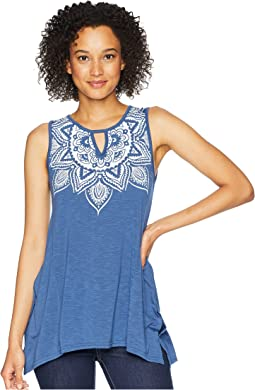 Roper 1767 Polyester Rayon Tank Top