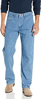 Men's Big & Tall Relaxed Fit Jean,Stone Bleach,46x30