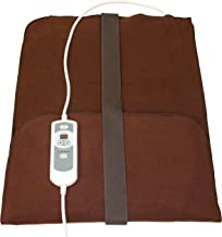Natural Relief Extra Large Digital Moist Heating Pad with Coral Sand - Auto Shut Off - Strap - Negative Ion (27