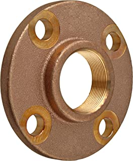 Lead Free Brass Pipe Fitting, Threaded Companion Flange, Class 150, 3/4