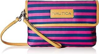 حقيبة يد نسائية بحزام كروس من نوتيكا مقاس واحد، لون بنفسجي وردي، مقاس واحد