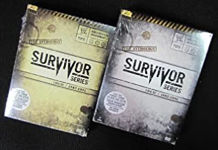 WWE: Survivor Series Anthology, Vol 1 and Vol 2 (1987-1991 and 1992-1996)