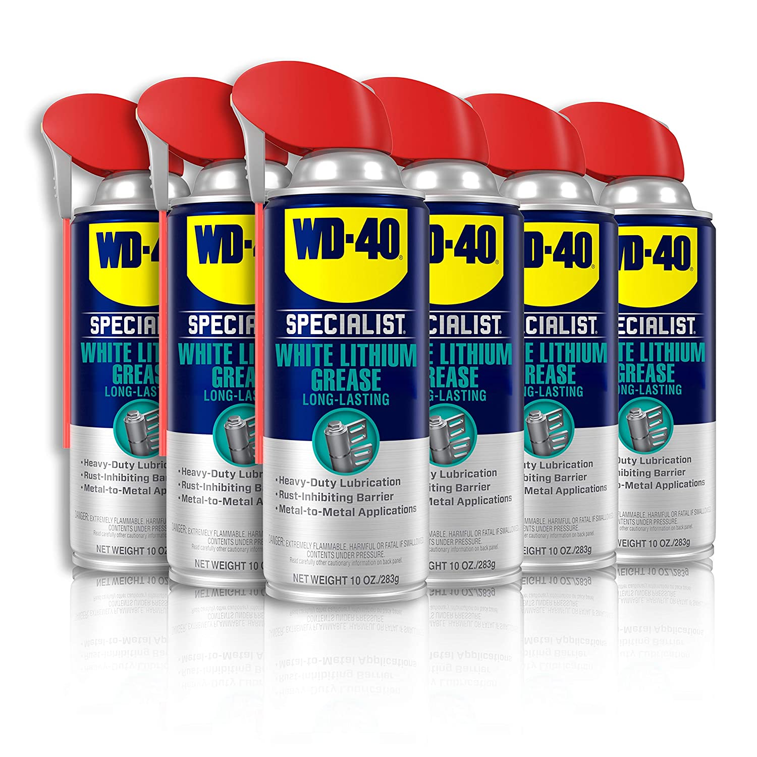 WD-40 - Outstanding 300240 Specialist White SMART with Spray Lithium Bombing free shipping Grease