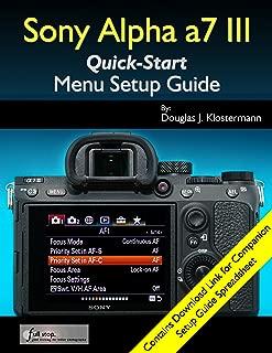 sony a7 menu guide
